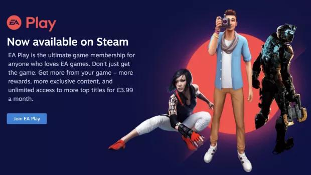 EA Play en Steam