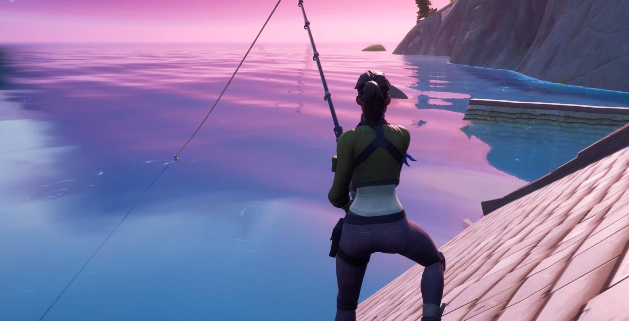Pesca en Fortnite