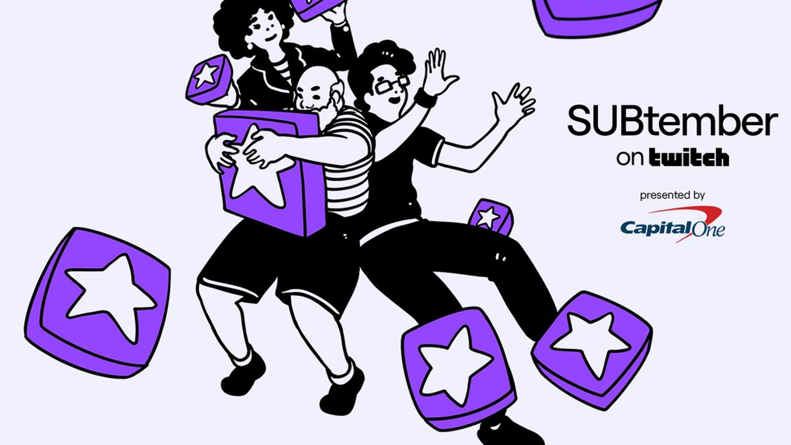 Evento subtember en Twitch