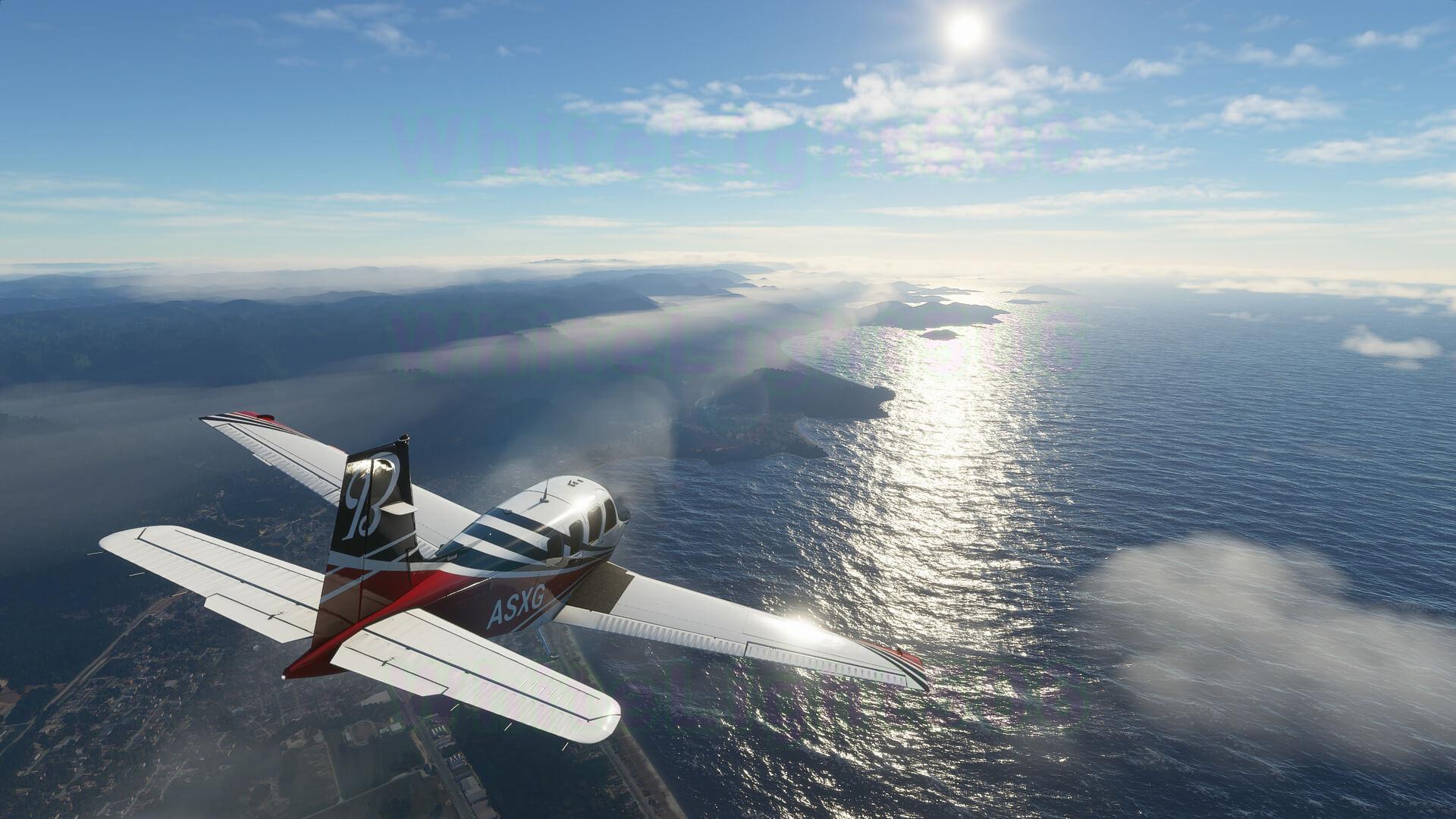 Gameplay de Flight simulator
