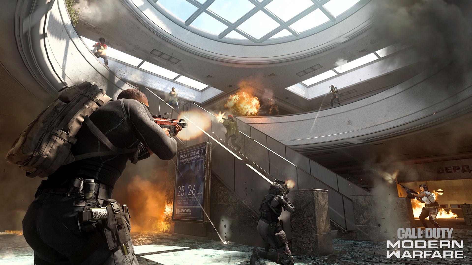 Enfrentamiento Modern Warfare