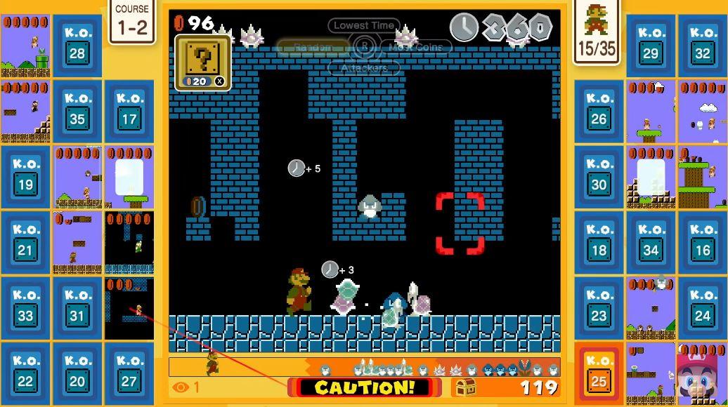 Battle royale de Super Mario Bros 35
