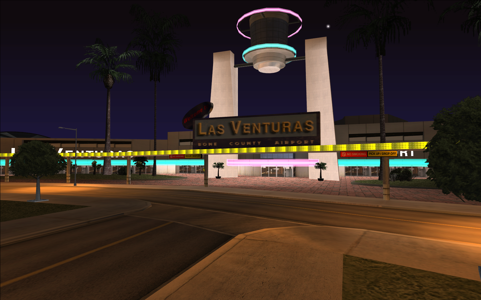 Aeropuerto de Las Venturas en GTA San Andreas