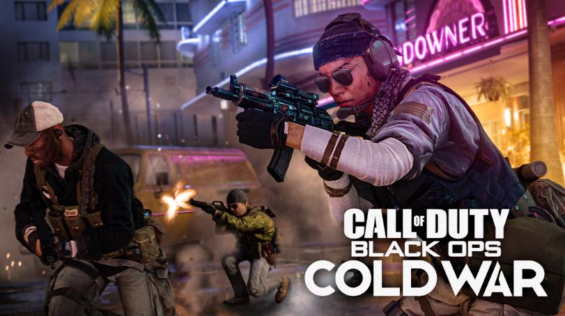 Jugadores en Call of Duty: Black Ops Cold War