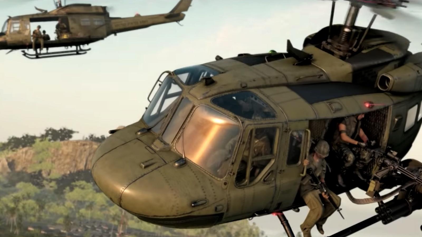 Helicópteros en Black Ops Cold War