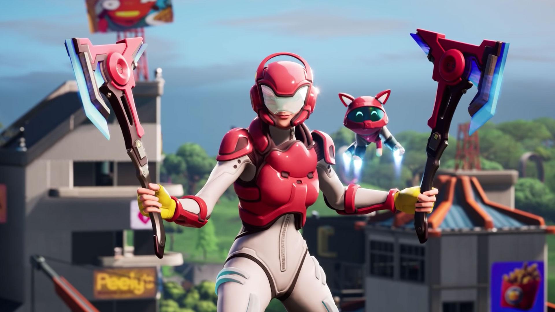 Creación de personajes en Fortnite