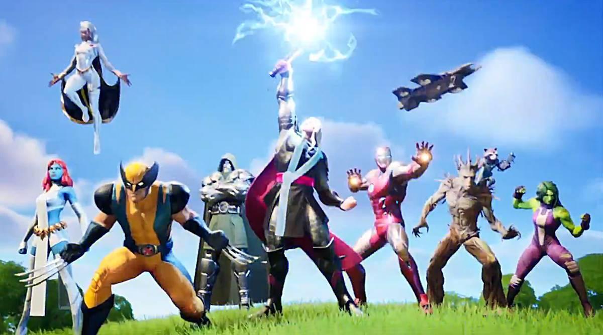 personajes de marvel en Fortnite