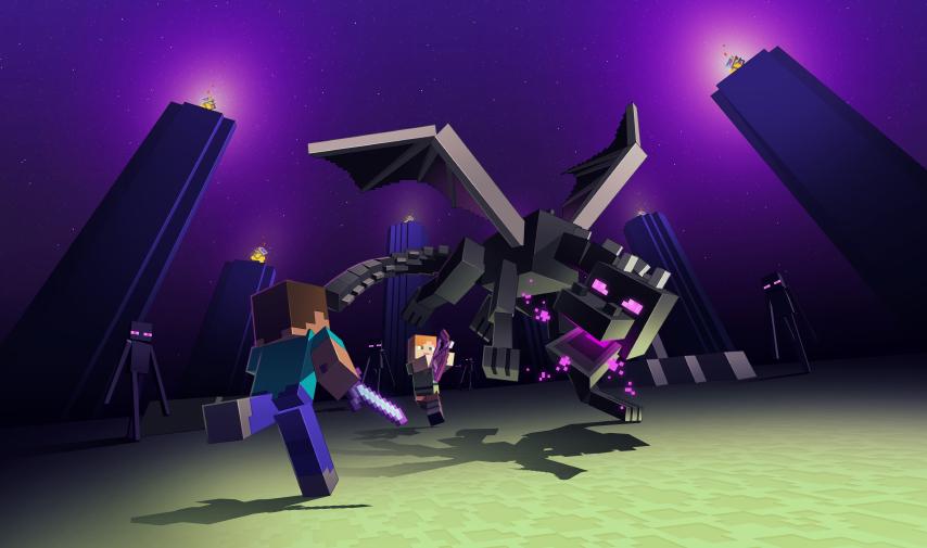 Ender Dragon en Minecraft