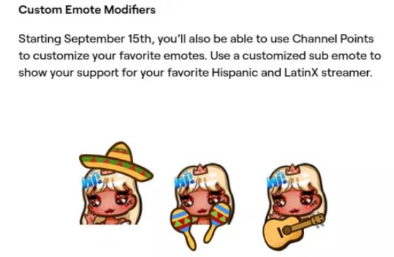 Emotes Herencia Hispana