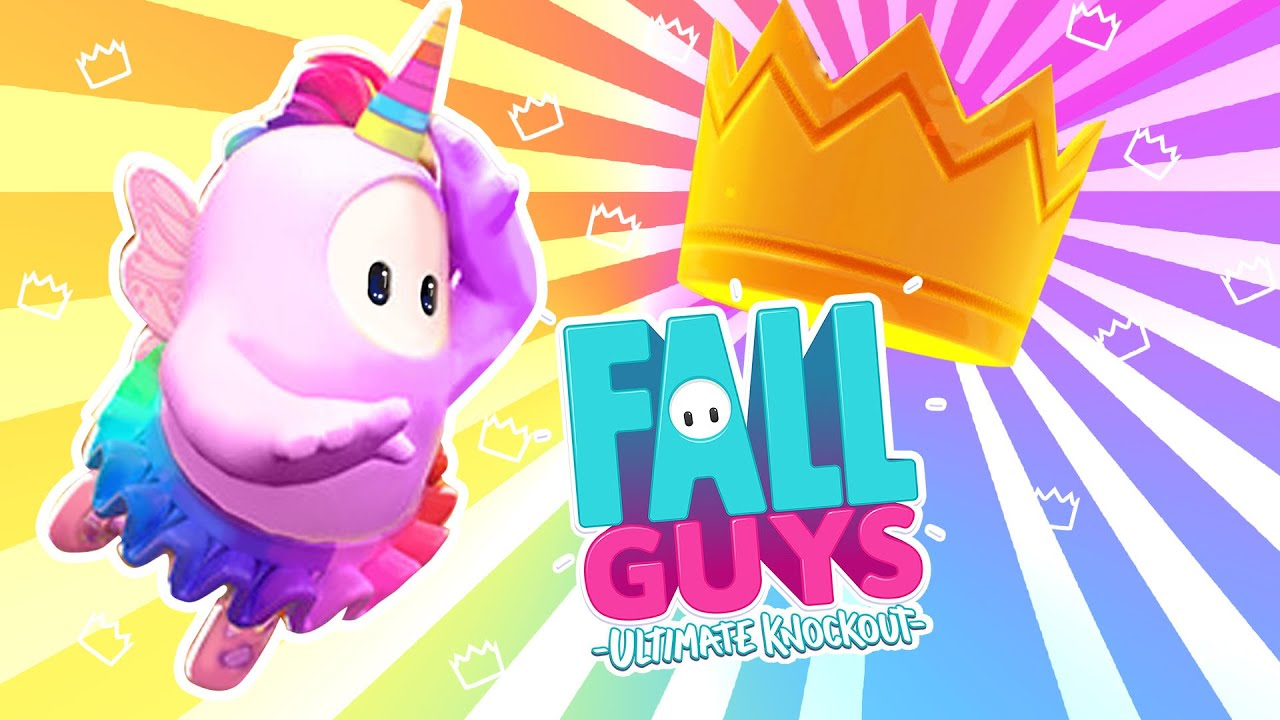 Unicornio de Fall Guys