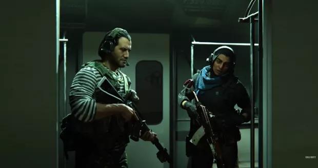 Farah y Nikolai de Modern Warfare