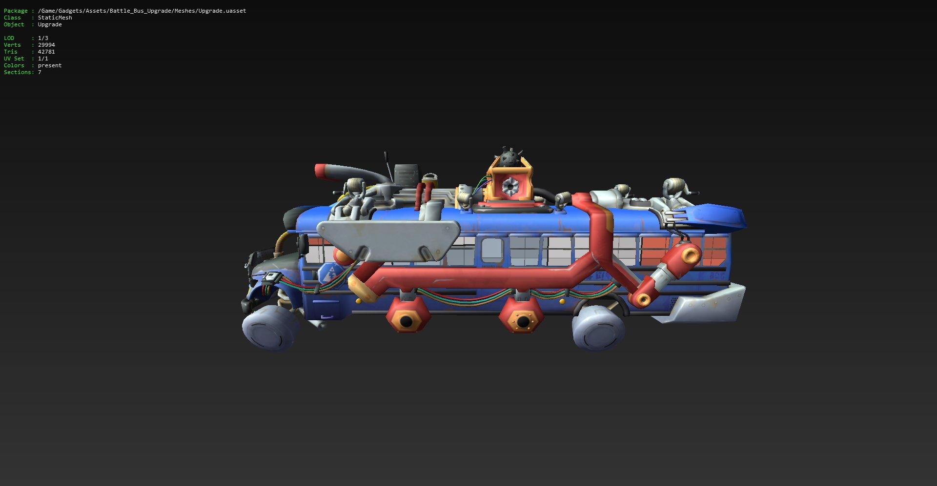 Bus de Fortnite