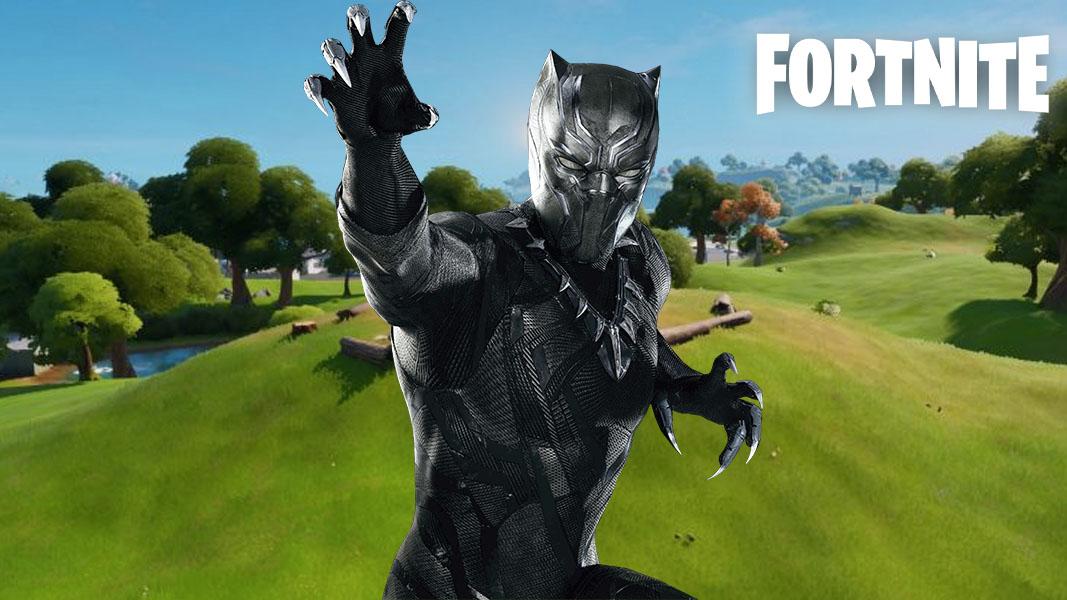 Black Panther skin en Fortnite
