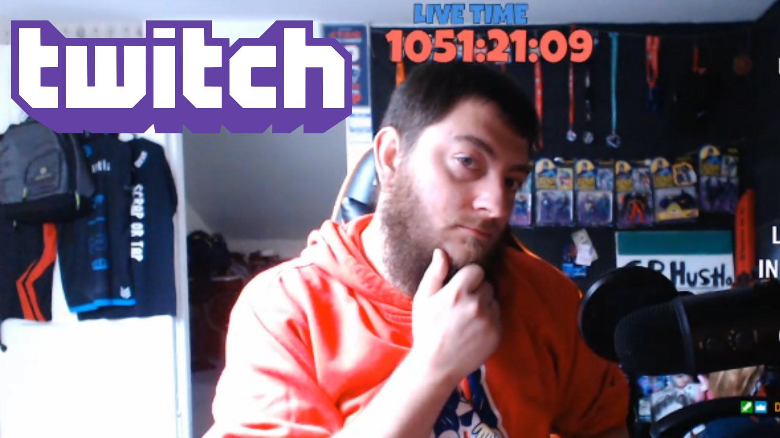 gphustla establece el récord del stream más largo de Twitch