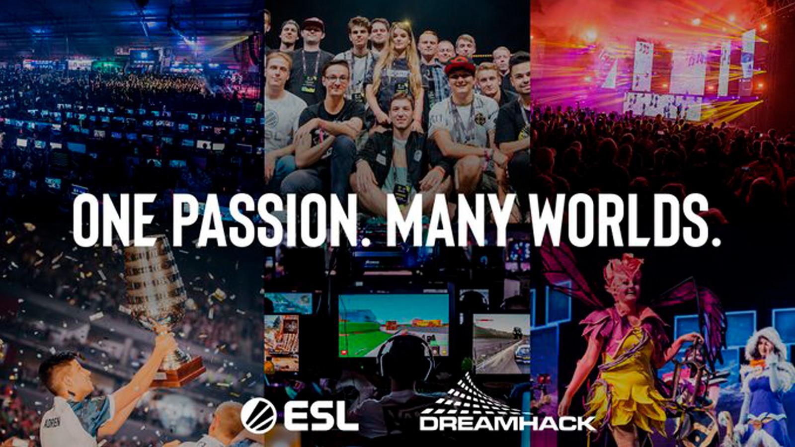 Varios eventos de ESL y Dreamhack
