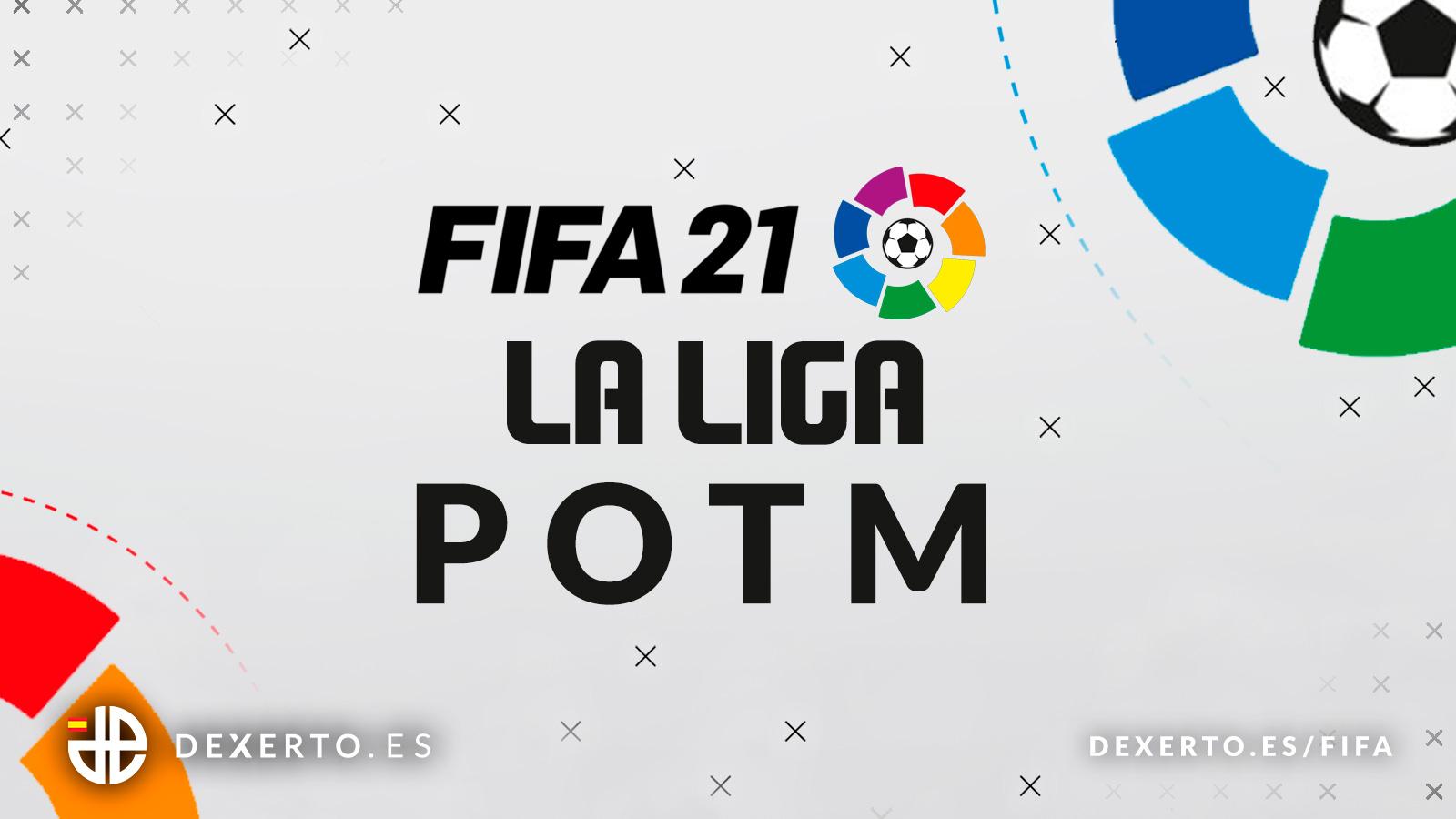 Logo de la liga y FIFA 21