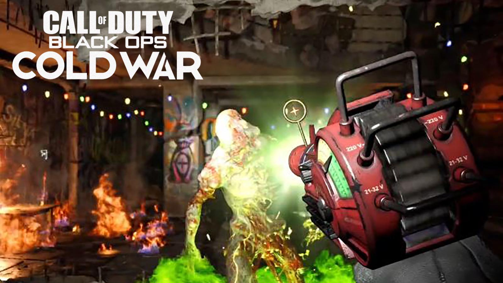 Pistola de rayos Zombies Black Ops Cold War
