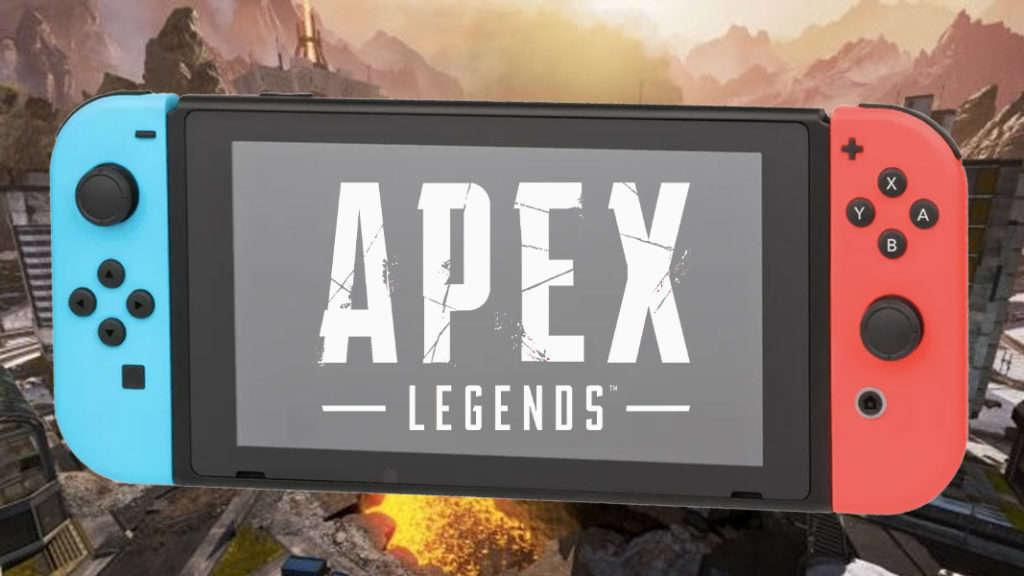 Logo Apex Legends en Nintendo Switch