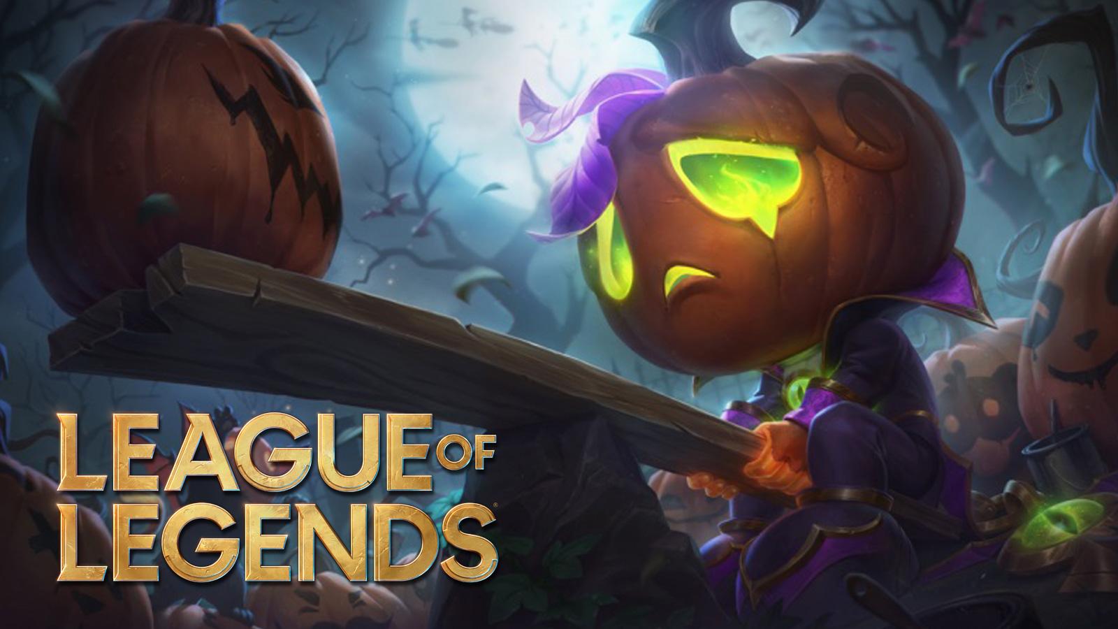 Skin amumu halloween league of legends parche