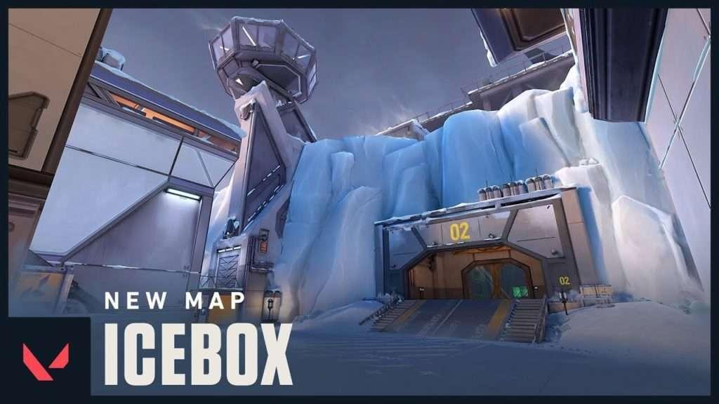 Mapa Icebox Valorant