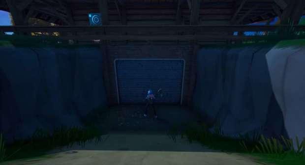 Puerta laboratorio Stark en Fortnite