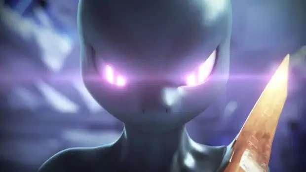 Mewtwo oscuro anime