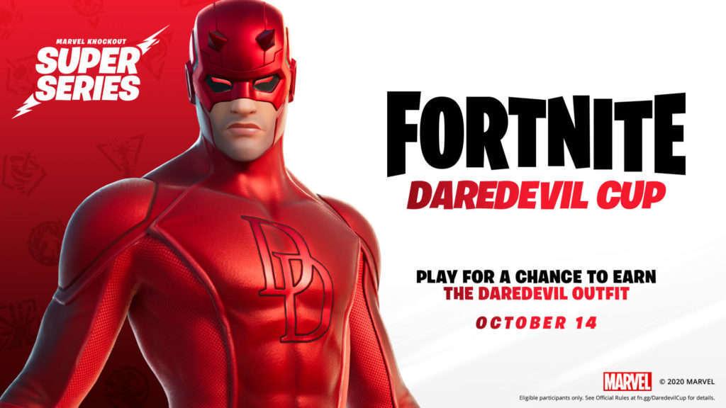 Copa Daredevil en Fortnite