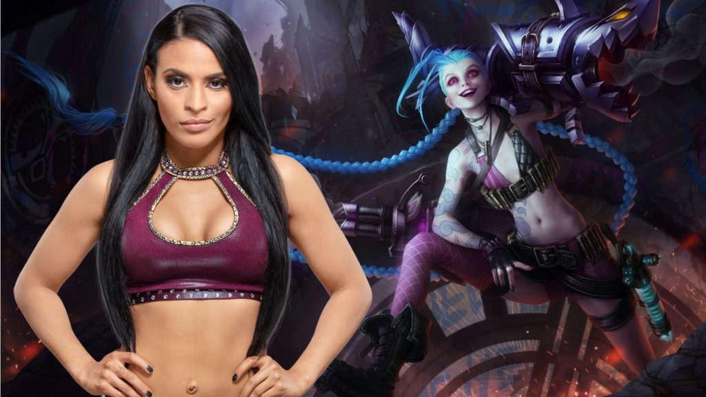 Cosplay Jinx League of Legends Zelena Vega