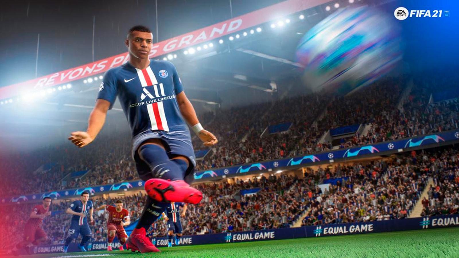 Mbappe en FIFA 21