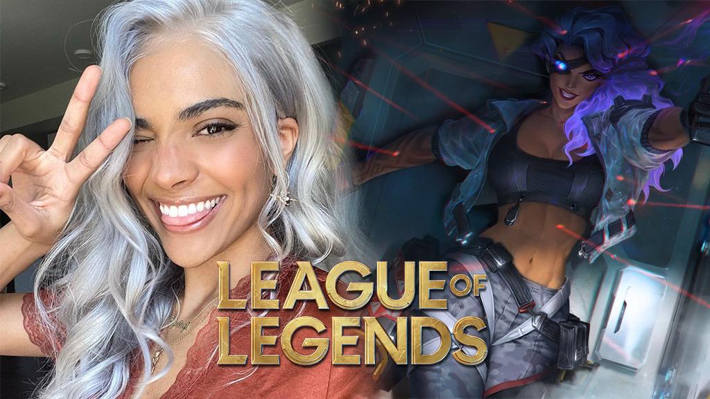 Neytiri y Samira cosplay League of Legends