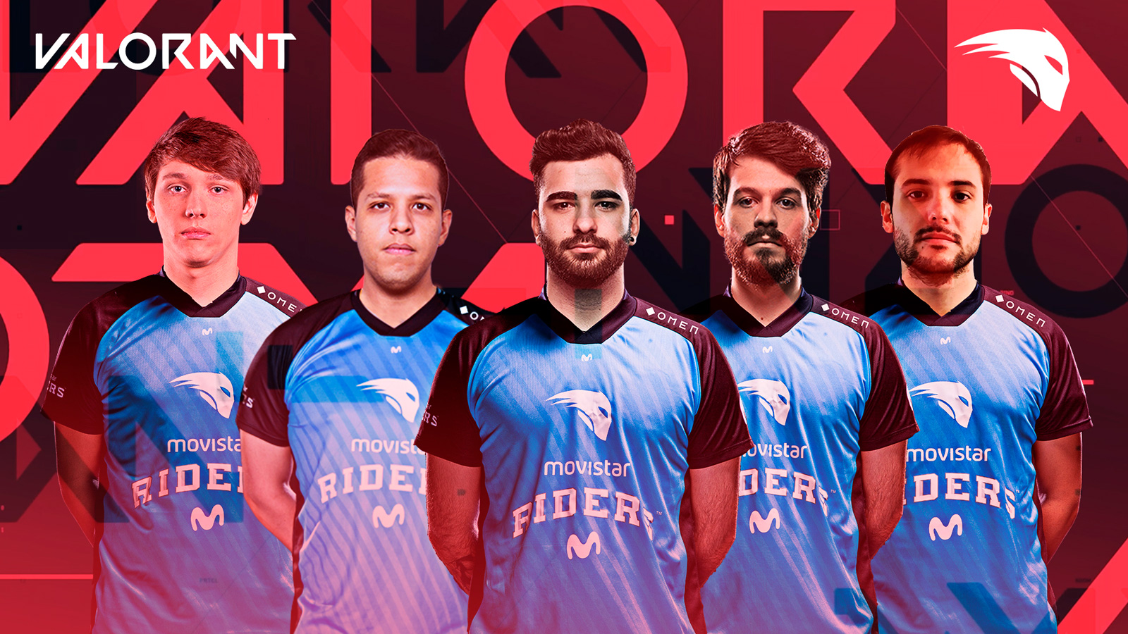 Equipo de Valorant de Movistar Riders
