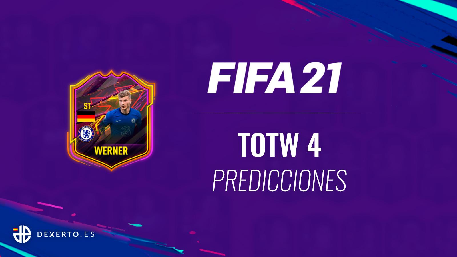 Werner prediccion fifa 21 TOTW 4