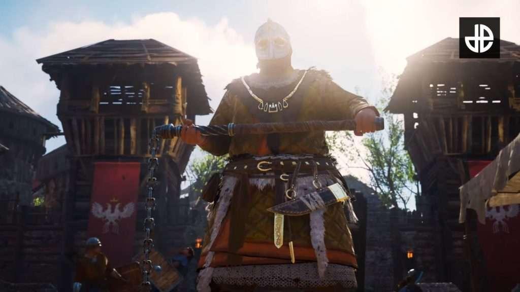 Enemigo con máscara en Assassin's Creed Valhalla