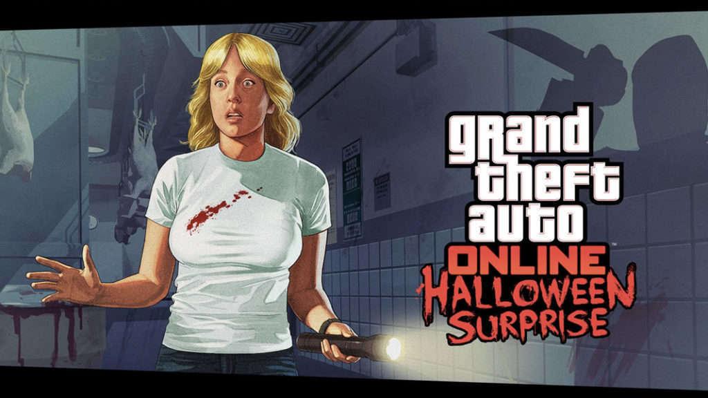 GTA Online Halloween Surprise logo
