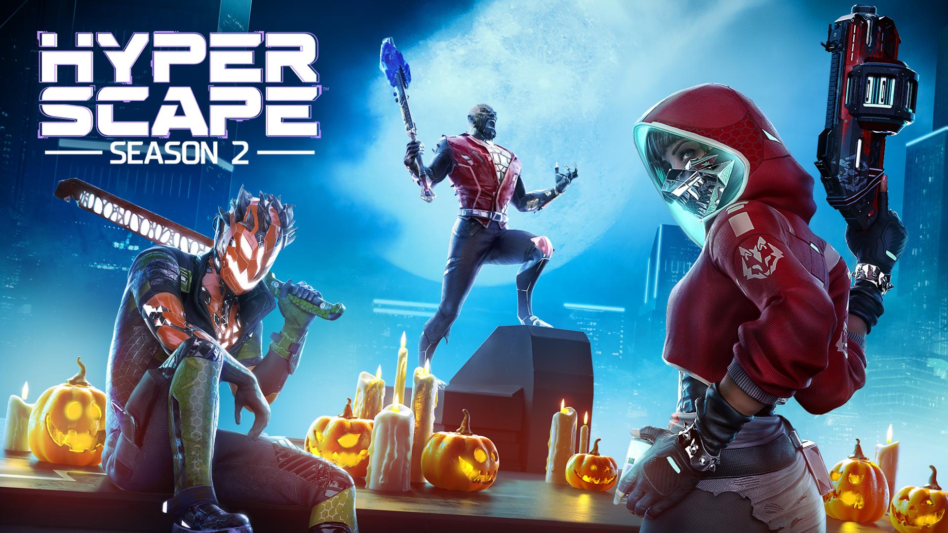 Halloween en Hyper Scape