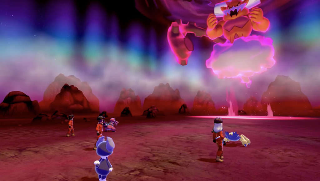 Landorus en Pokémon Espada y Escudo