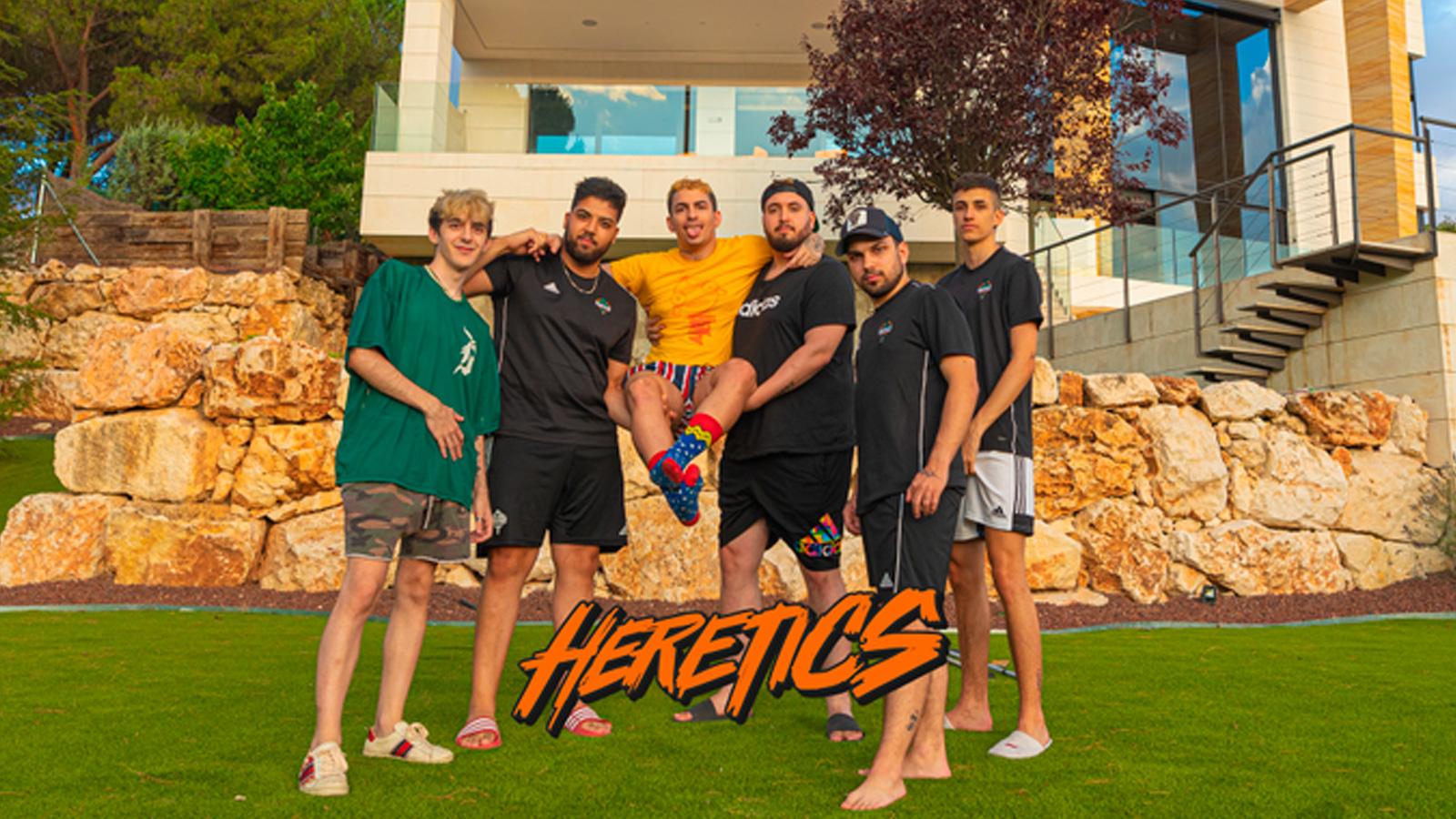 Creadores de contenido de Team Heretics en la mansion española