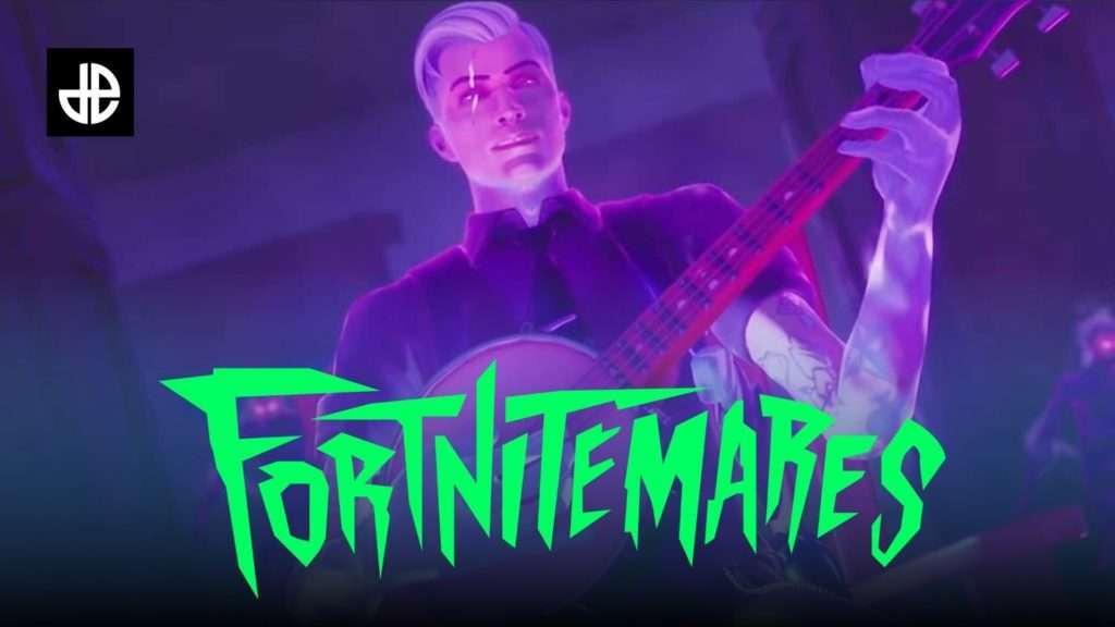 Midas con el logo de Fortnitemares