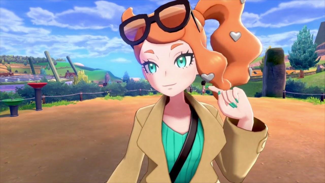 Sonia Pokémon Espada