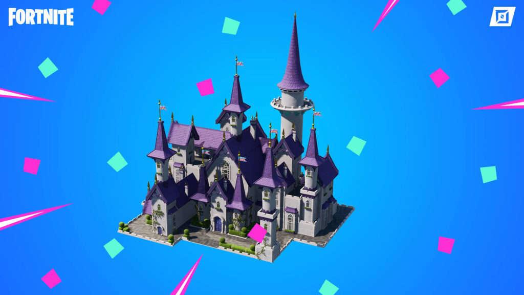 Castillo princesa Fortnite