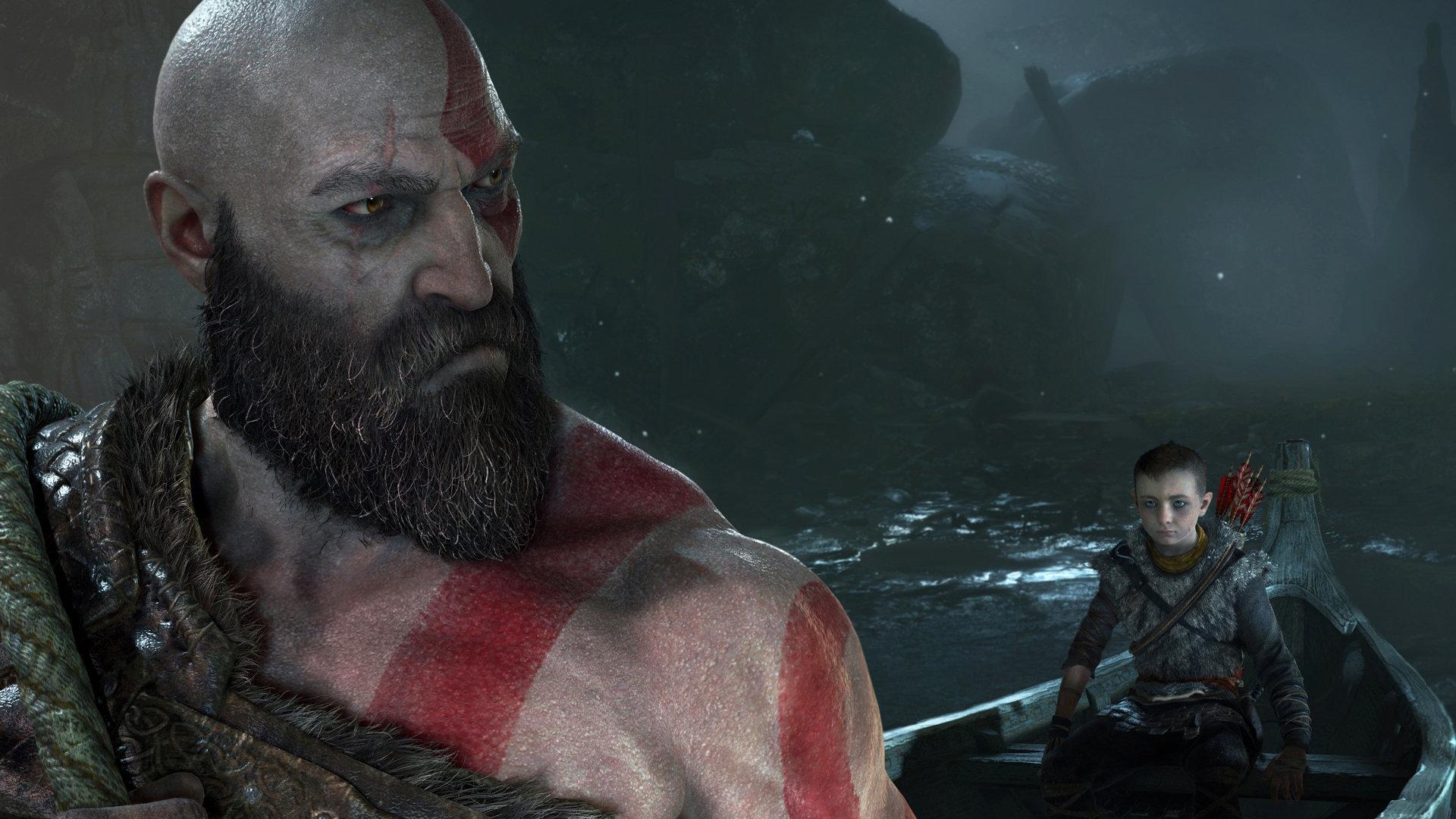 Kratos en God of War