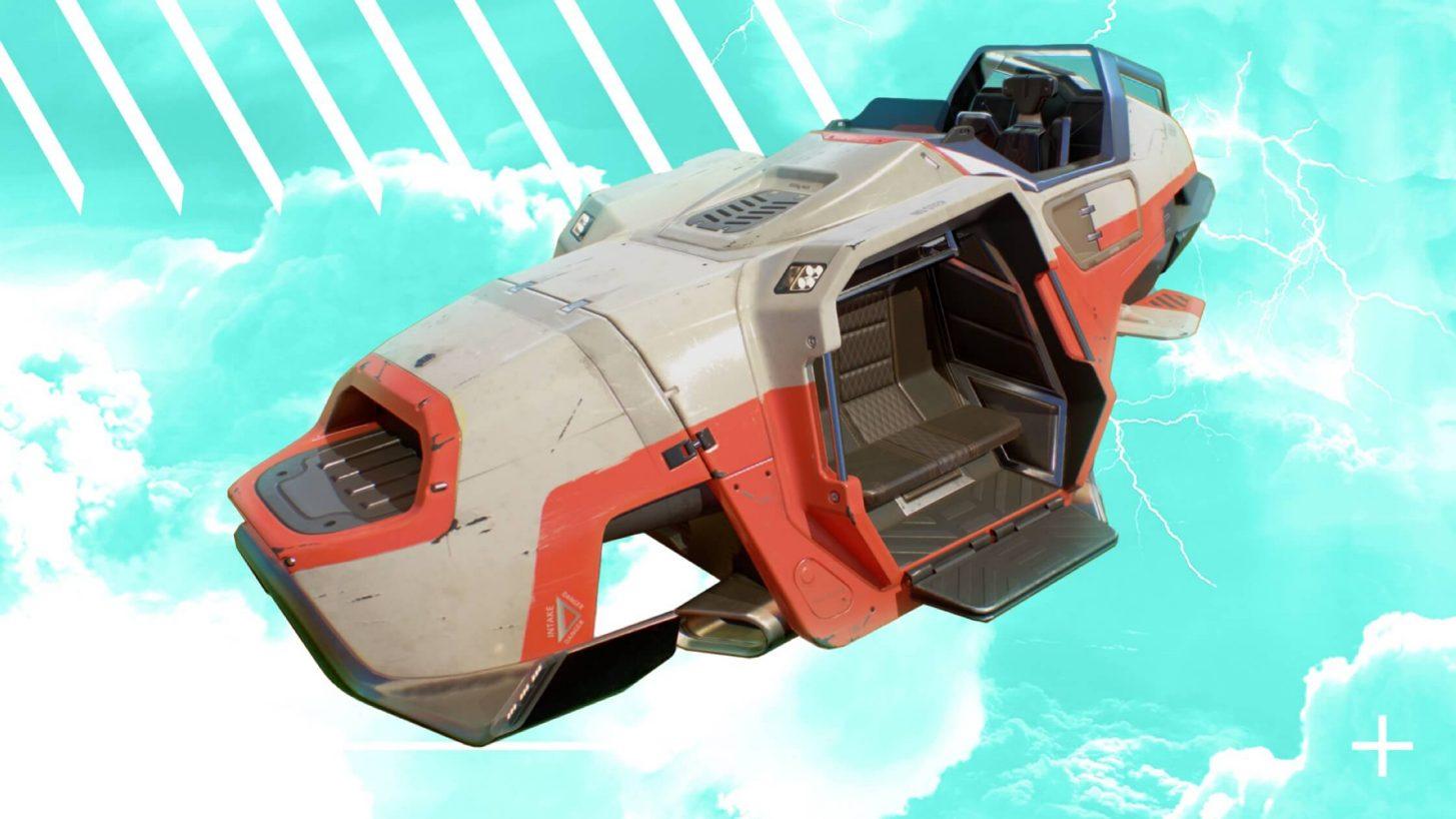 Vehículo Trident Apex Legends