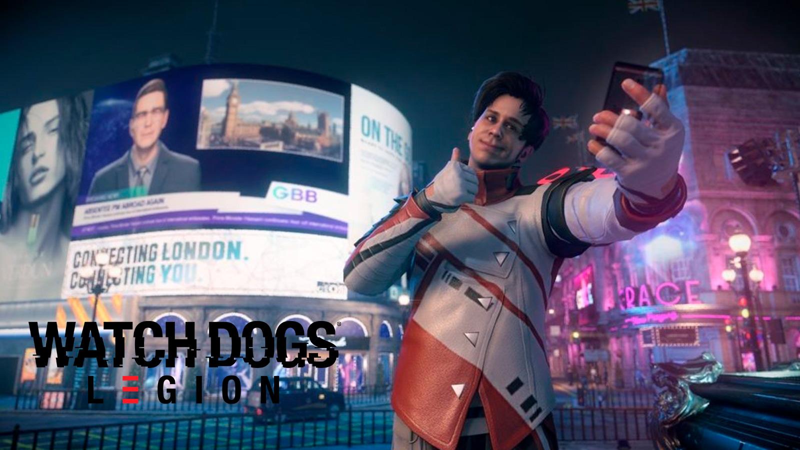 Personaje de Rubius en Watch Dogs: Legion