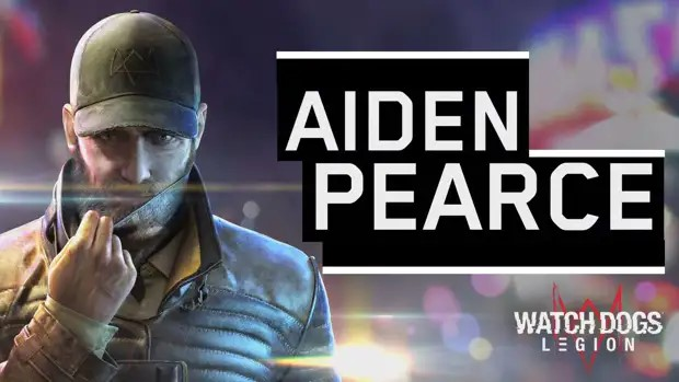 Aiden Pearce Watch Dogs Leagion