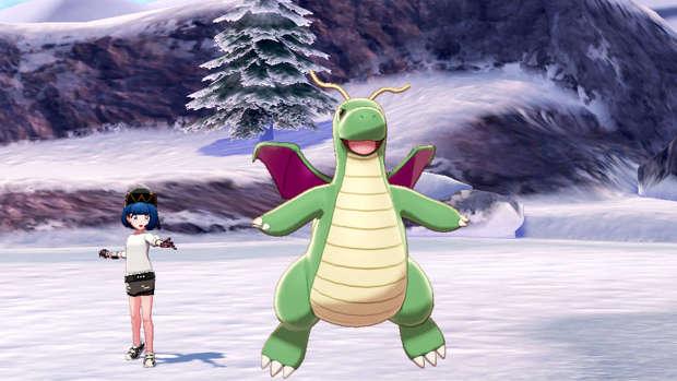 Dragonite Pokémon Espada y Escudo