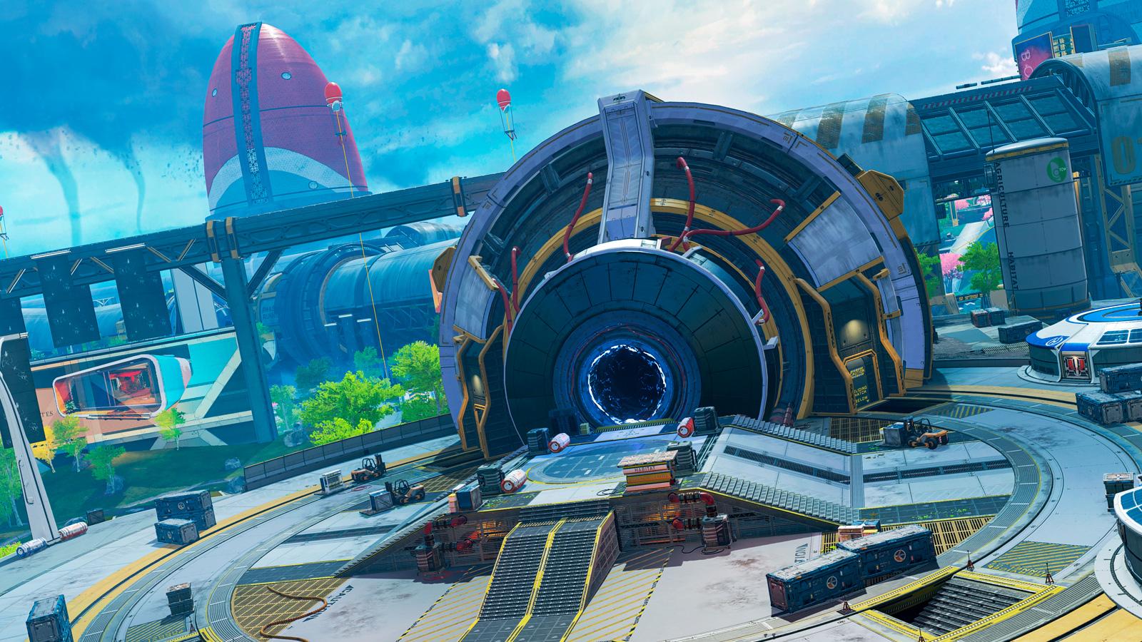 Portal en Olympus nuevo mapa Apex Legends