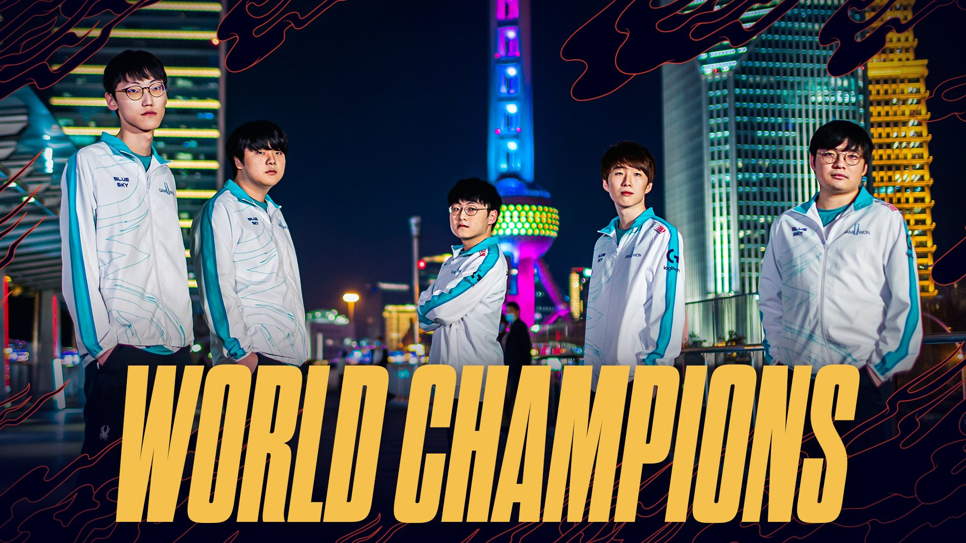 Damwon, campeones de Worlds 2020
