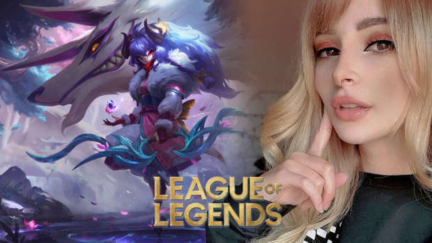 Kindred cosplay league of legends