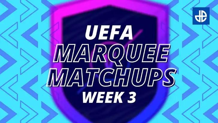 Marquesinas UEFA SBC FIFA 21