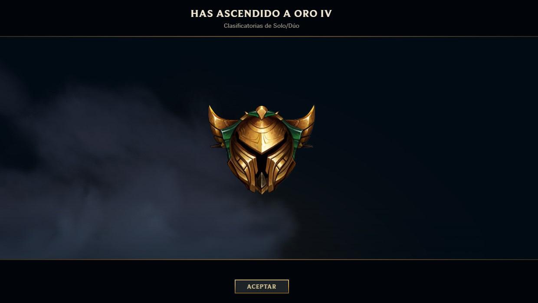 Oro League of Legends